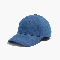 Denim Baseball Cap : | Madewell