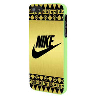 Nike Gold Aztec iPhone 5 Case Framed Green