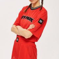 Airtex Crop T-Shirt and Shorts Set by Ivy Park - Suits & Co-ords - Clothing