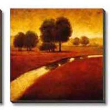 Tranquil Landscape Canvas Wall Art