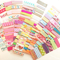 Cute Washi Tape Samples - Various Lengths!- Perfect for planning, journaling, scrapbooking