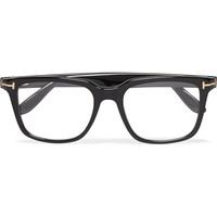 Tom Ford - Square-Frame Acetate Optical Glasses | MR PORTER