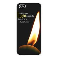 Light a Candle iPhone 5 Cell Phone Case> iPhone 5 Cell Phone Cases> Cross Threads