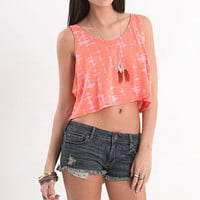 Super Cropped Fly Back Tank