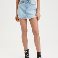 AE High-Waisted Festival Mini Skirt, Indigo Unicorn