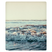 Pacific Ocean Fleece Throw