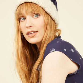 Sled It Be Hat in Navy | Mod Retro Vintage Hats | ModCloth.com