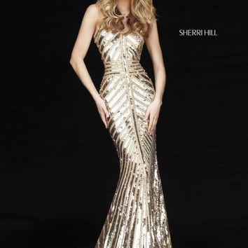 Sherri Hill 51206 Sparkling Beaded Gown