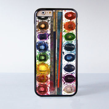 Oil Painting Box  Plastic Case Cover for Apple iPhone 6 6 Plus 4 4s 5 5s 5c