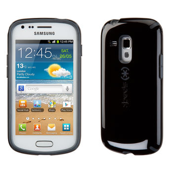 CandyShell for Samsung Galaxy Ace II x - Black/Slate
