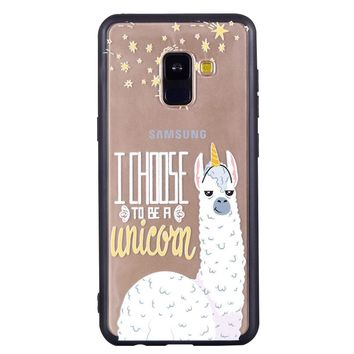 Alpaca Pattern Soft Ultra-thin Cellphone Case for Samsung Galaxy