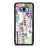 KPOP ALL BAND Samsung Galaxy S8 Plus Case Cover