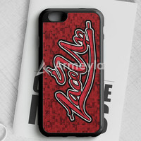 Mgk Machine Gun Kelly Lace Up Young And Reckless iPhone 6 Plus | 6S Plus Case | armeyla.com