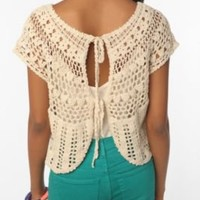 UrbanOutfitters.com > Ecote Crocheted Tieback Top