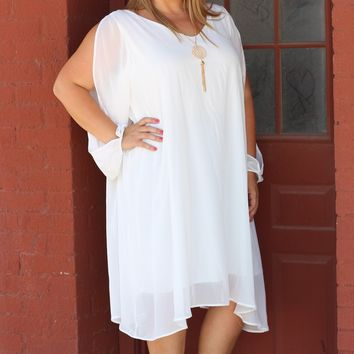 Woman of the Hour Dress ~ Ivory ~ Sizes 12-18