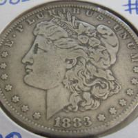 7 Tailfeathers 1883 Silver Dollar Antique Coins Morgan Dollar 1883 USA Silver Coins Antique US Coin Silver US Currency Rare Coin