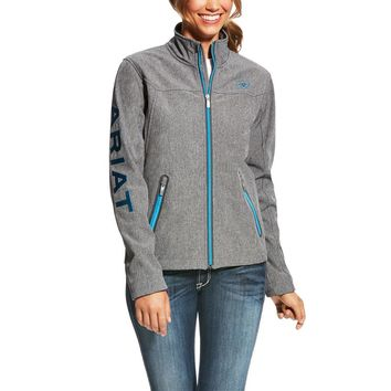 Ariat Ladies New Team Softshell Jacket - Charcoal