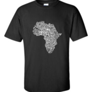 Africa Fingerprint Shirt