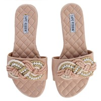 Cape Robbin OMH-3 Women's Nude Sandals