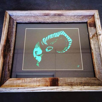 """El Fauno"" Framed by Craig Church"