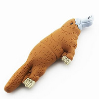 D-CLICK TM High Quality 4GB/8GB/16GB/32GB/64GB/Cool USB High speed Flash Memory Stick Pen Drive Disk (16GB, Platypus)