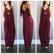 A Slouch Pouch Maxi in Merlot