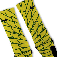 Wings 1 Customized Nike Elite Socks Fast Shipping!