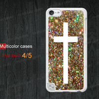 IPod case ipod touch 5 case ipod 4 case color Cross case iPod 5 case iPod touch 4 case