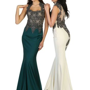 Long Prom Dress Evening Party Formal Gown
