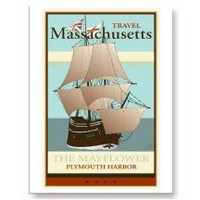 Travel Massachusetts Postcards