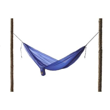 Royal Blue Polyester Ultralight Hammock - 19.5 Feet Long