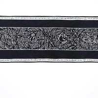 Disney Parks Be Our Guest Lumiere Black Chalkboard Table Runner New with Tags