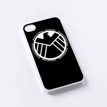 S.H.I.E.L.D. Agent Black WN iPhone 4/4S, 5/5S, 5C,6,6plus,and Samsung s3,s4,s5,s6