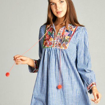 Blooms & Gypsies Tunic Dress