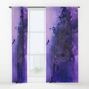 Sahasrara (crown chakra) Window Curtains by duckyb