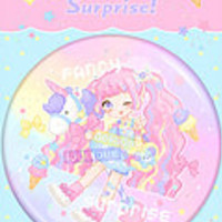 ficklewish | Fancy Surprise! Unipopcorn Button