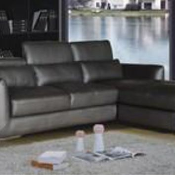 Ron 2 Piece Brown Living Room Sectional