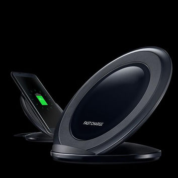 Fast Charge Qi Wireless Charging Stand Dock for Samsung Galaxy S7 / S7 edge /S6 Edge Plus / Note 5