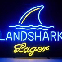 land Shark Lager Neon Sign
