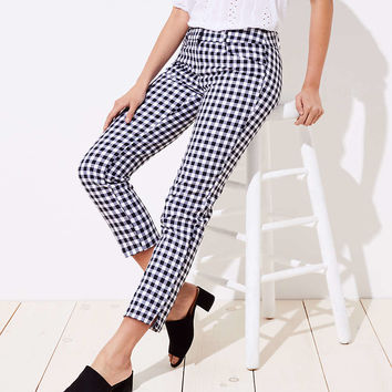 Gingham Riviera Pants in Julie Fit | LOFT