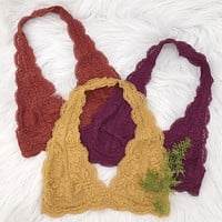 Lace Halter Bralette - Small-XXLarge (more colors) - Most Popular
