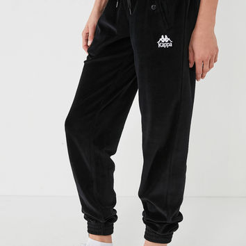 Kappa + UO Screwball Velour Track Pant | Urban Outfitters