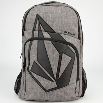 Volcom Deluxe Backpack Black/Grey One Size For Men 23887012701