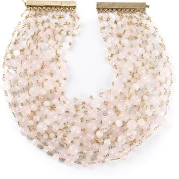 Rosantica Pearl Choker Necklace