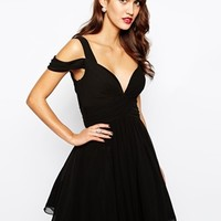 Forever Unique Sweetheart Prom Dress with Off Shoulder