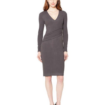 Raoul Verena Pleated Sheath Dress