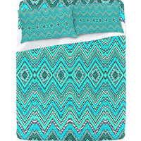 DENY Designs Home Accessories | Ingrid Padilla Turquoise Whim Sheet Set