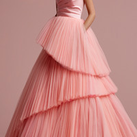 Cutting Edge Tulle Gown | Moda Operandi