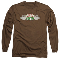 FRIENDS/CENTRAL PERK LOGO - L/S ADULT 18/1 - COFFEE -