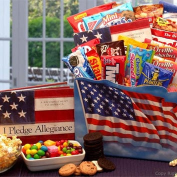 America The Beautiful Snack Gift Box